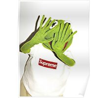 Frog for Supreme Media Cases, Pillows, and More. Poster