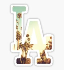 LA Dodgers 4 Sticker
