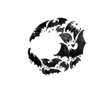 Bat Moon by Foss