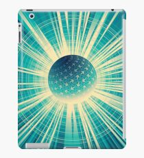 Abstract colorful business finance background iPad Case/Skin
