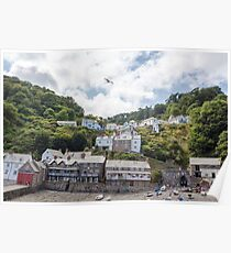 Clovelly, Devon Poster