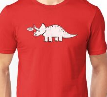 Cartoon Triceratops Unisex T-Shirt