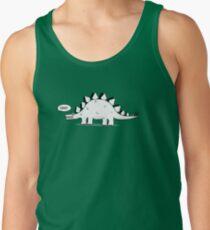 Cartoon Stegosaurus Men's Tank Top