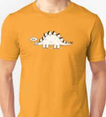 Cartoon Stegosaurus Unisex T-Shirt