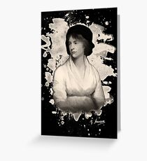 Mary Shelley (Wollstonecraft) Tribute Greeting Card