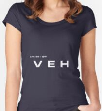 2001 A Space Odyssey - HAL 900 VEH System Women's Fitted Scoop T-Shirt