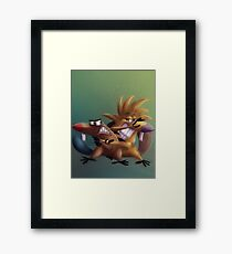 The Angry Beavers - Remake Framed Print