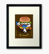 Mc-Donald Framed Print