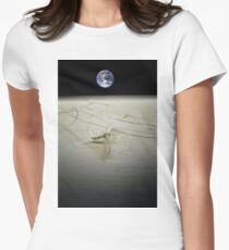 Lunar Lander Women's Fitted T-Shirt
