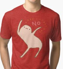 Honest Blob Says No Tri-blend T-Shirt