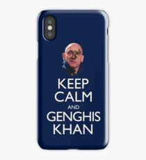 Keep Calm and Genghis Khan iPhone Case/Skin