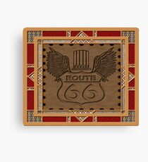 Route 66 america highway USA historic Canvas Print