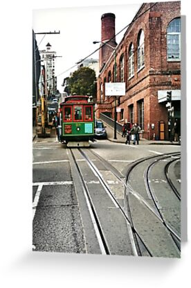 San Francisco cable car by Analia Vulich