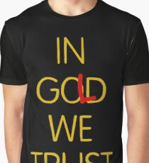 In Gold We Trust Graphic T Shirt
