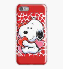 snoopy valentine  iPhone Case/Skin