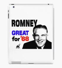 ROMNEY GREAT FOR 68 iPad Case/Skin