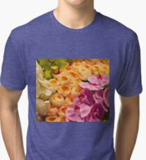 Orchid Topiary Tri-blend T-Shirt