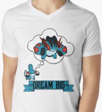 Mudkip Dream Big Men's V-Neck T-Shirt