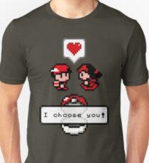 Pokemon Valentine I Choose You!  Unisex T-Shirt