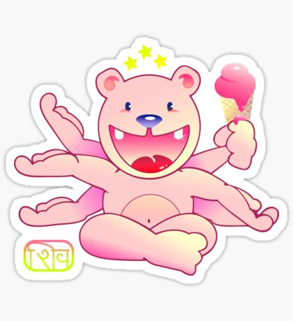 Teddy Shiva VRS2 Sticker