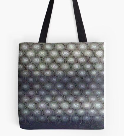 Hexagon mesh 3 - Phlox Tote Bag