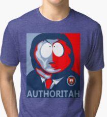 Respect my Authoritah Tri-blend T-Shirt