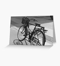 Bicyclette Greeting Card