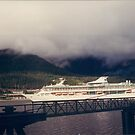 Cruise Ship, Alaska by lenspiro