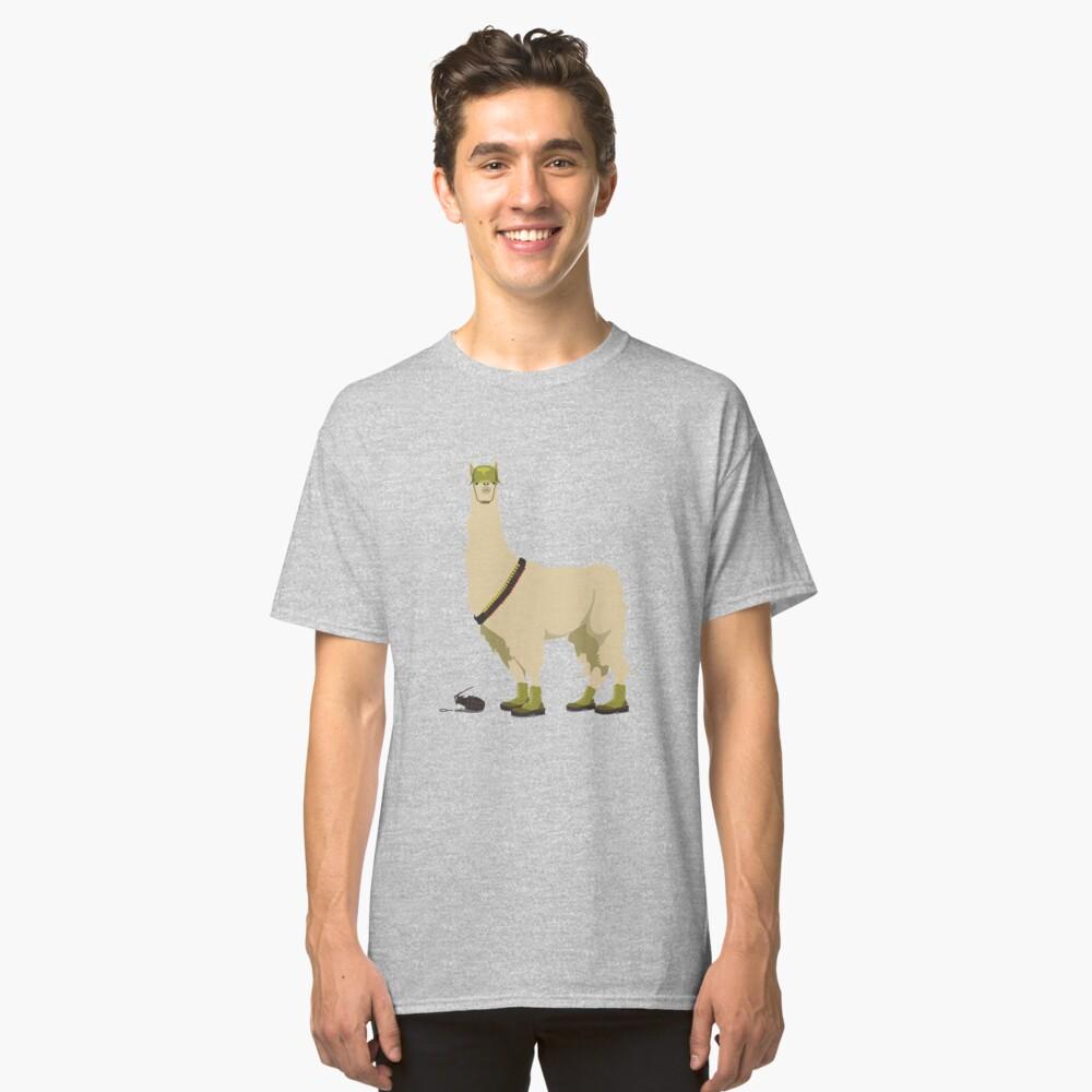 Llamageddon Classic T-Shirt Front