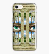 Surrealist Temple of Love Petit Trianon Versailles Paris iPhone Case/Skin