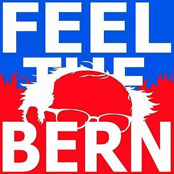 Feel The Bern Official Bernie Sanders Apparel by Memegode