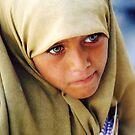 Green Eyed Giza Girl  by clizzio
