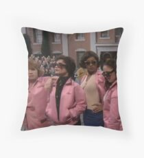 Pink Ladies ~ Grease Live Throw Pillow