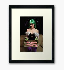 Would You like some of My Cookies? Framed Print