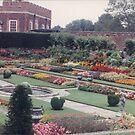 Colorful British Garden, United Kingdom by lenspiro