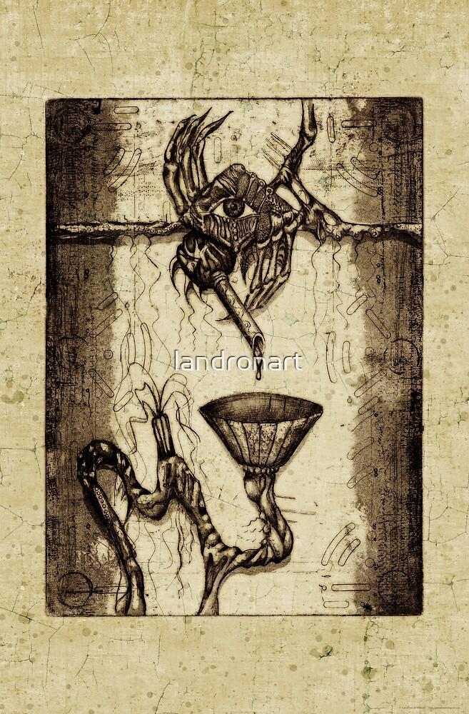 Teardrop - by Landron Artifacts by landronart