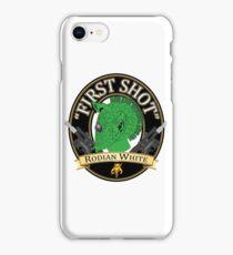 First Shot Rodian White Ale iPhone Case/Skin