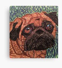 Puggy Canvas Print