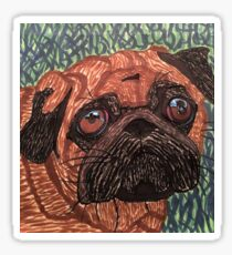 Puggy Sticker