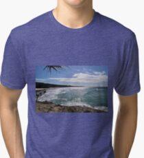 SILVER BEACH Tri-blend T-Shirt
