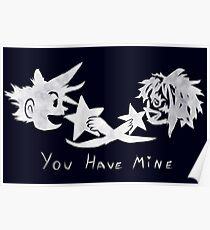 "Sora and Kairi - ""You Have Mine"" Poster"