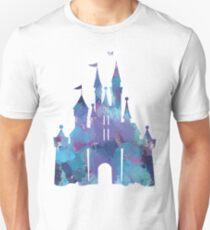 Splatter Paint Castle Unisex T-Shirt