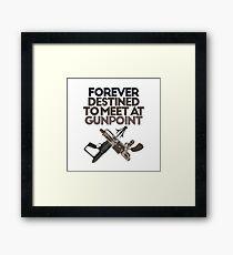 Meet at Gunpoint Framed Print