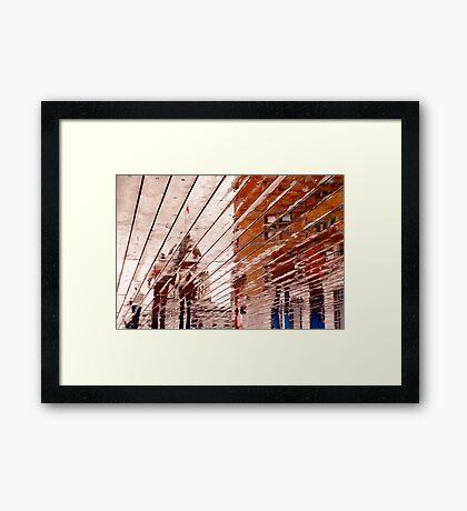 Quebec Reflections IV Framed Print