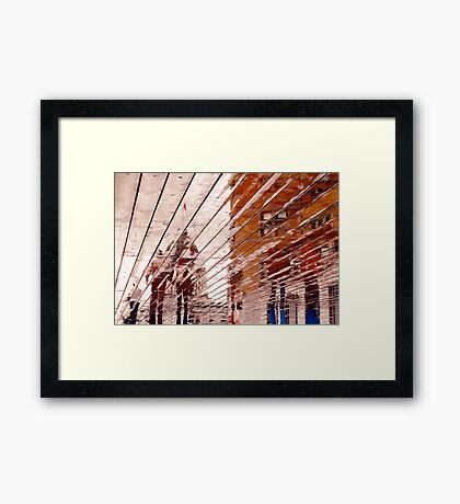 Quebec Reflections IV Framed Print