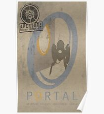 Portal Game Poster Poster