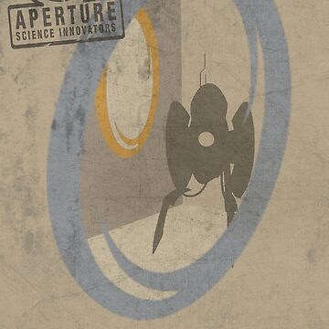 Portal Game Poster by HAPPYDOOMSDAY