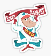 Roger Ramjet - Held unserer Nation Sticker