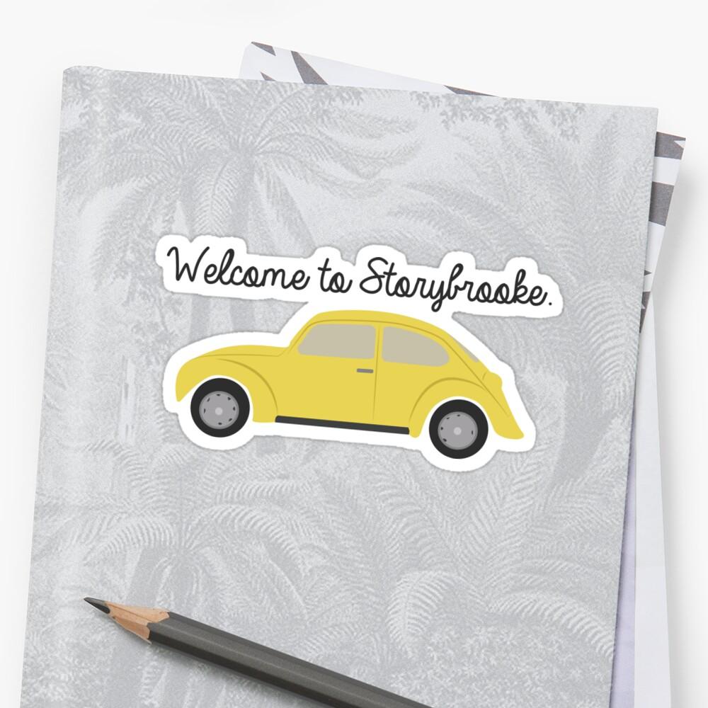 StoryBrooke Pegatina