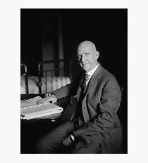 Eugene Debs - Union Leader Photographic Print